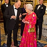 Queen Elizabeth's Gold Launer Handbag