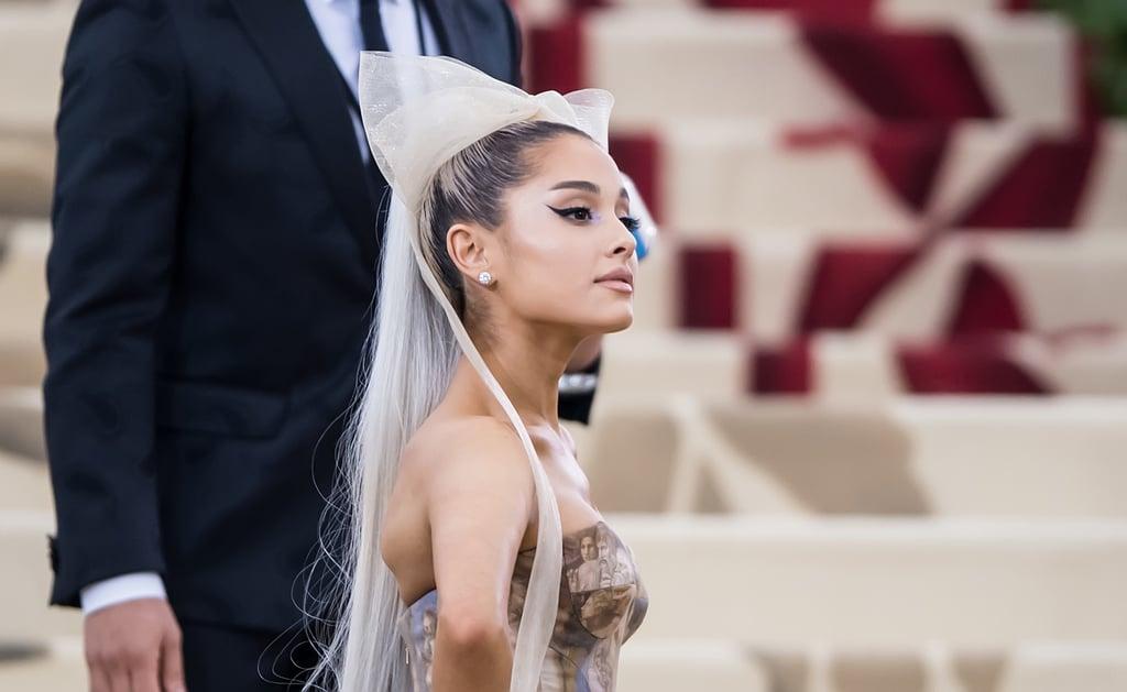 "Ariana Grande's Fenty Beauty Song Lyric in ""Make Up"""