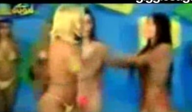 Brazilian Bikini Contest Brawl!