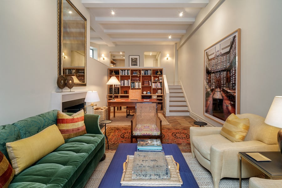 Barefoot Contessa star Ina Garten has just listed the elegantly appointed New York City apartment she shared with her husband, academic Jeffrey Garten for $2.57 million, Variety reports. The couple purchased the Upper East Side apartment for $1.82 million in 2004 as a two-bedroom apartment, before hiring celebrity interior designer Daniel Romualdex to update it into a spacious one-bedroom. The property features a sunken living room with soaring ceilings and a large leaded glass windows, his and her closets in the master bedroom and a single — but luxuriously outfitted — bathroom; unfortunately, you have to walk through the bedroom to reach it. Food Network fans will be surprised to see how modest the home's galley kitchen is. But what it lacks in size, it makes up for in smart design, with its open shelving and long stretches of counter space. The couple upgraded to a $6.04 million two-bedroom apartment in the same neighbourhood last year. Get up close and personal with Ina's old space ahead.