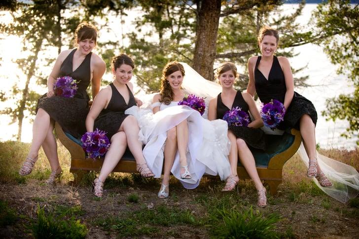 Ladies In Waiting  Lake Wedding Inspiration  Popsugar Love  Sex Photo 8-5932