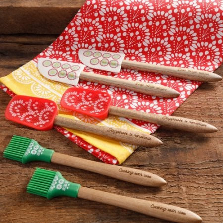 The Pioneer Woman Cowboy Rustic 6-Piece Mini Silicone Tool Set ($12)
