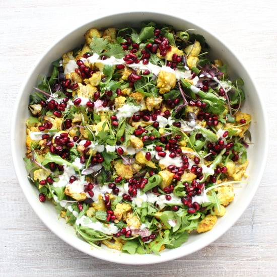 Spiced Cauliflower Salad with Kefir Dressing Recipe