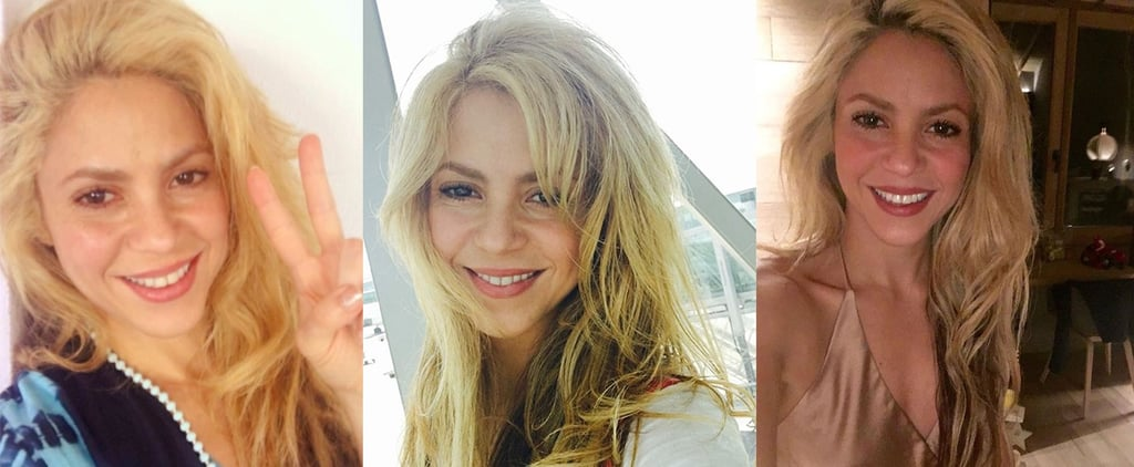 Shakira's Sexiest Selfies