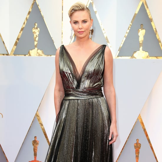 Charlize Theron Oscars Dress Censored on Iranian TV Channel