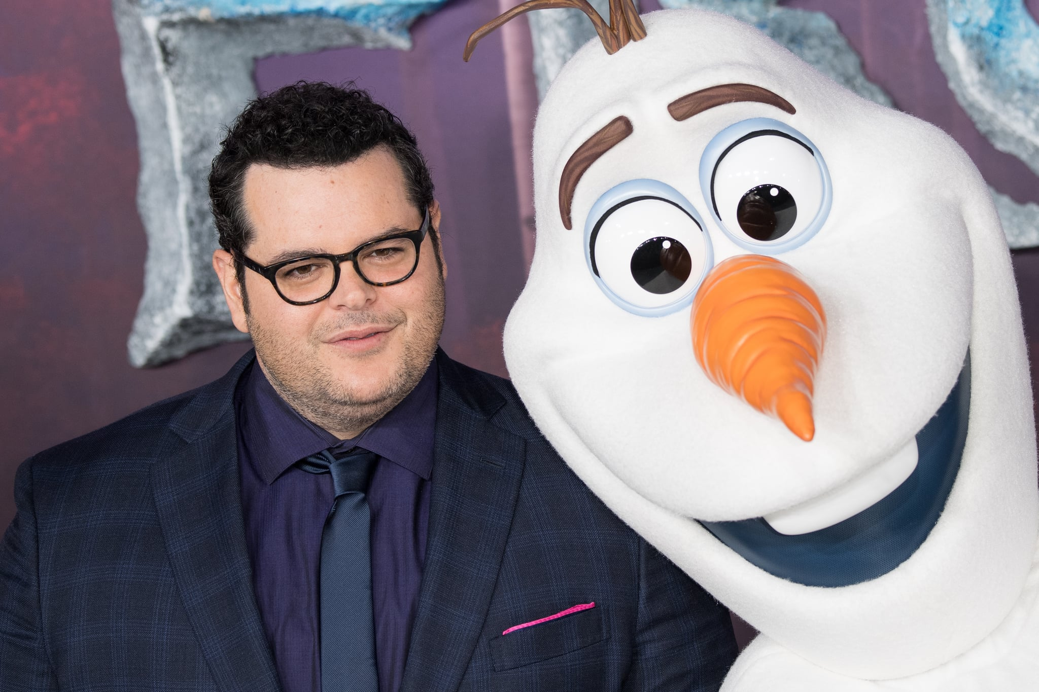 LONDON, ENGLAND - NOVEMBER 17: Josh Gad attends the
