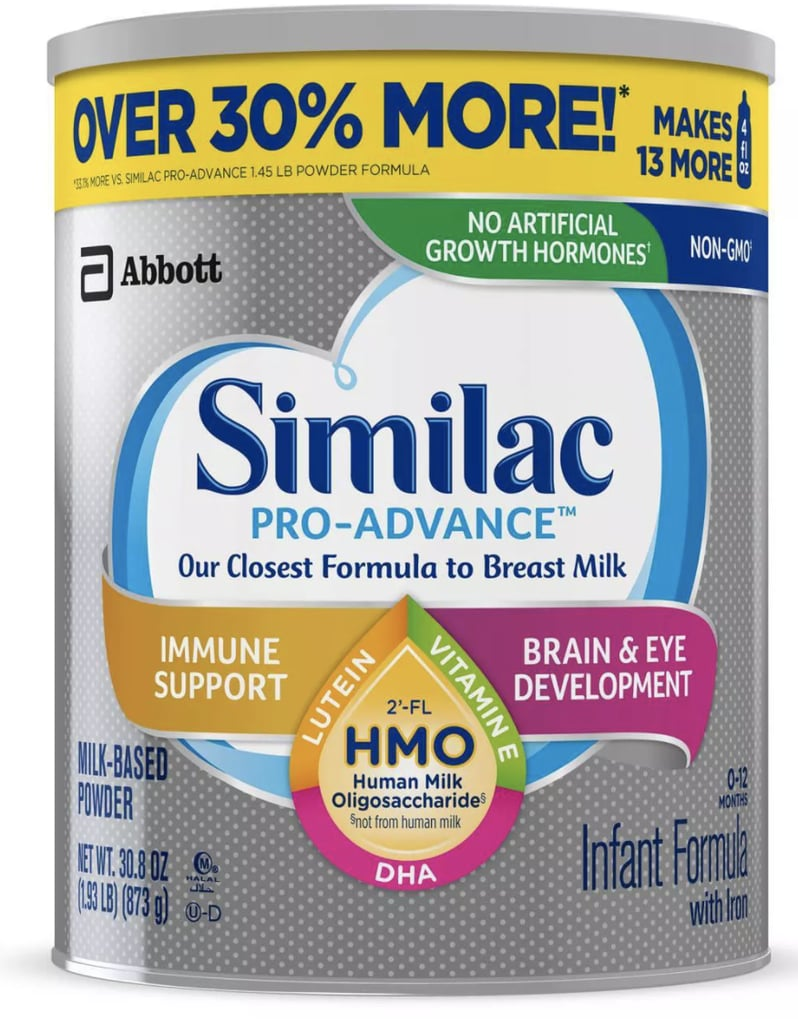 Similac Pro-Advance Non-GMO Infant Formula with Iron Powder