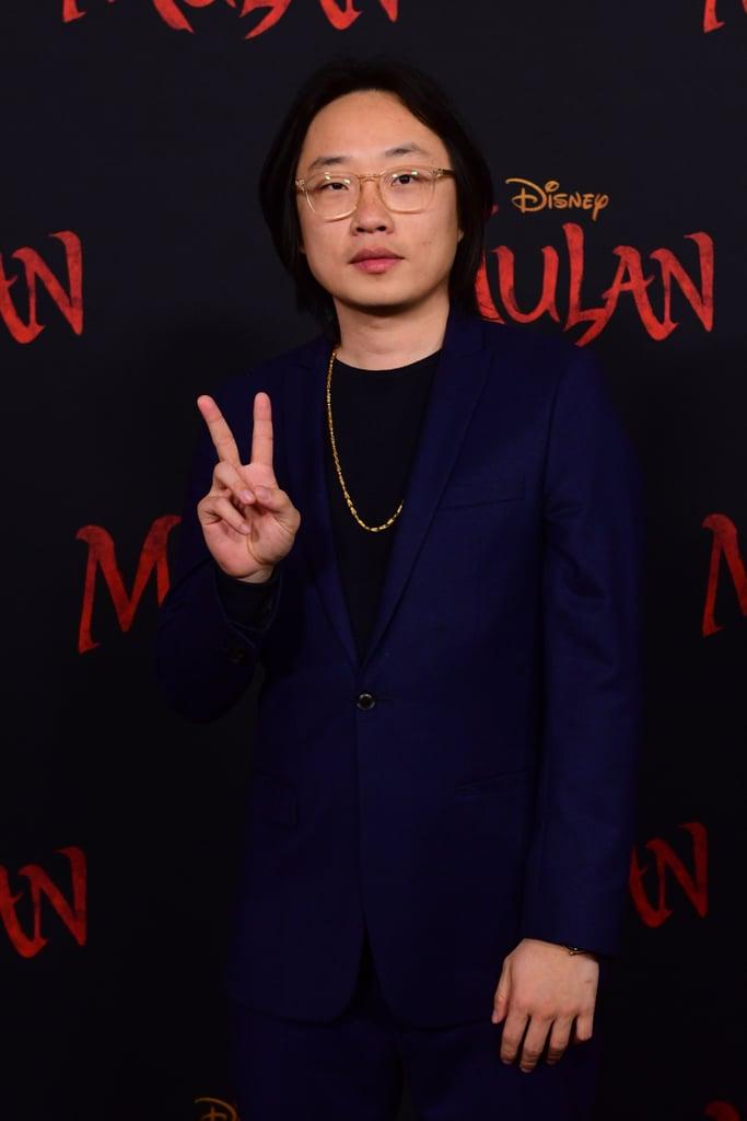 جيمي أو يانغ في العرض العالمي الأول لفيلم مولان في لوس أنجلوس