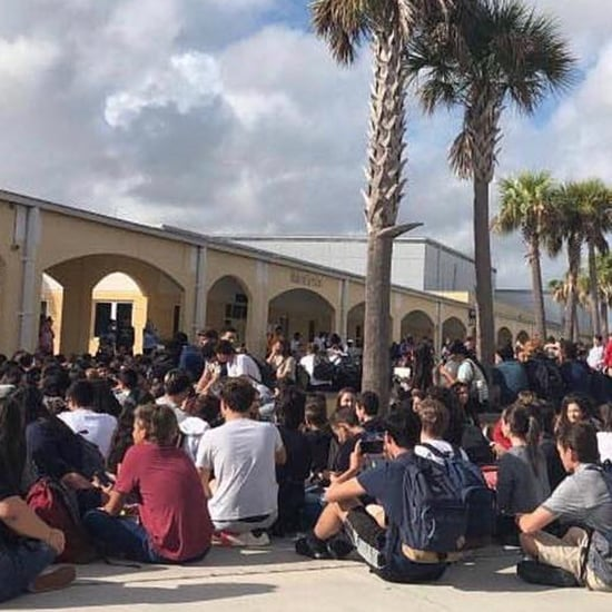 Florida Student Walkout For Parkland Shooting Victims