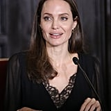 Angelina Jolie Helping Refugees in Peru October 2018