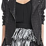 Fashion trend-setters like Zoe Saldana and Olivia Palermo are fans of Milly. The brand's Oversize Tweed Moto Jacket ($595) just reads cool.  — Annie Gabillet, news editor