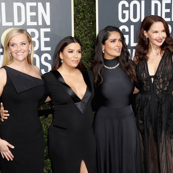 Women Wearing Black at the Golden Globes 2018