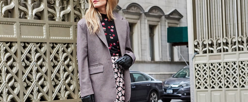 How to Style a Slip Skirt For Winter From POPSUGAR at Kohl's