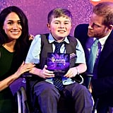 Meghan Markle and Prince Harry at the 2019 WellChild Awards