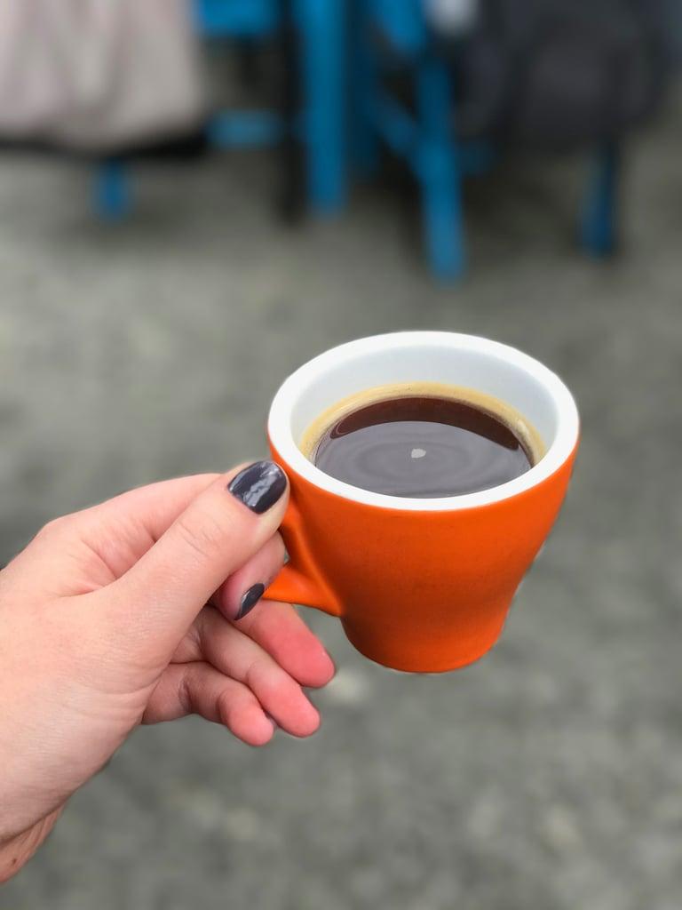 القهوة!