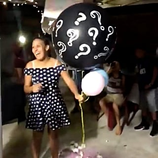 Gender Reveal Balloon Floats Away