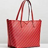 Karl Largerfeld K/Stripe Logo Shopper ($439)