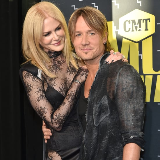 Keith Urban and Nicole Kidman at the 2017 CMT Awards