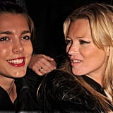 Charlotte and Kate Moss made a fashionable pair at a Parisian fashion show in January 2011. Charlotte is a published writer and has worked as an editor at large, often writing about fashion. She also serves as a face of Gucci.