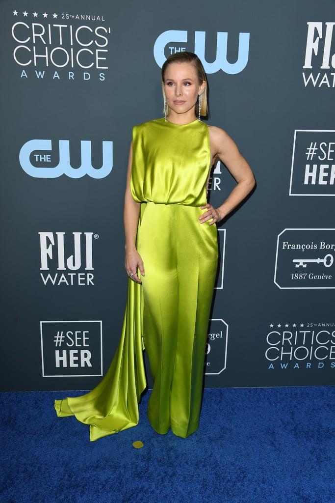 Kristen Bell at the 2020 Critics' Choice Awards