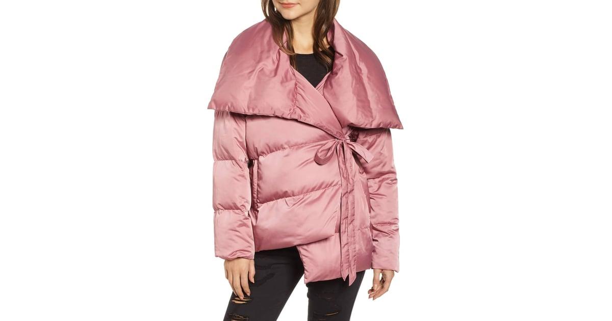 ffeaf51316c Avec Les Filles Wrap Puffer Jacket