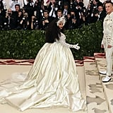 Cardi B Met Gala Dress 2018
