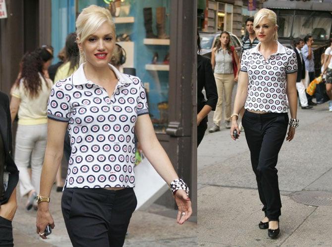 Gwen Stefani Is Spotted in Soho