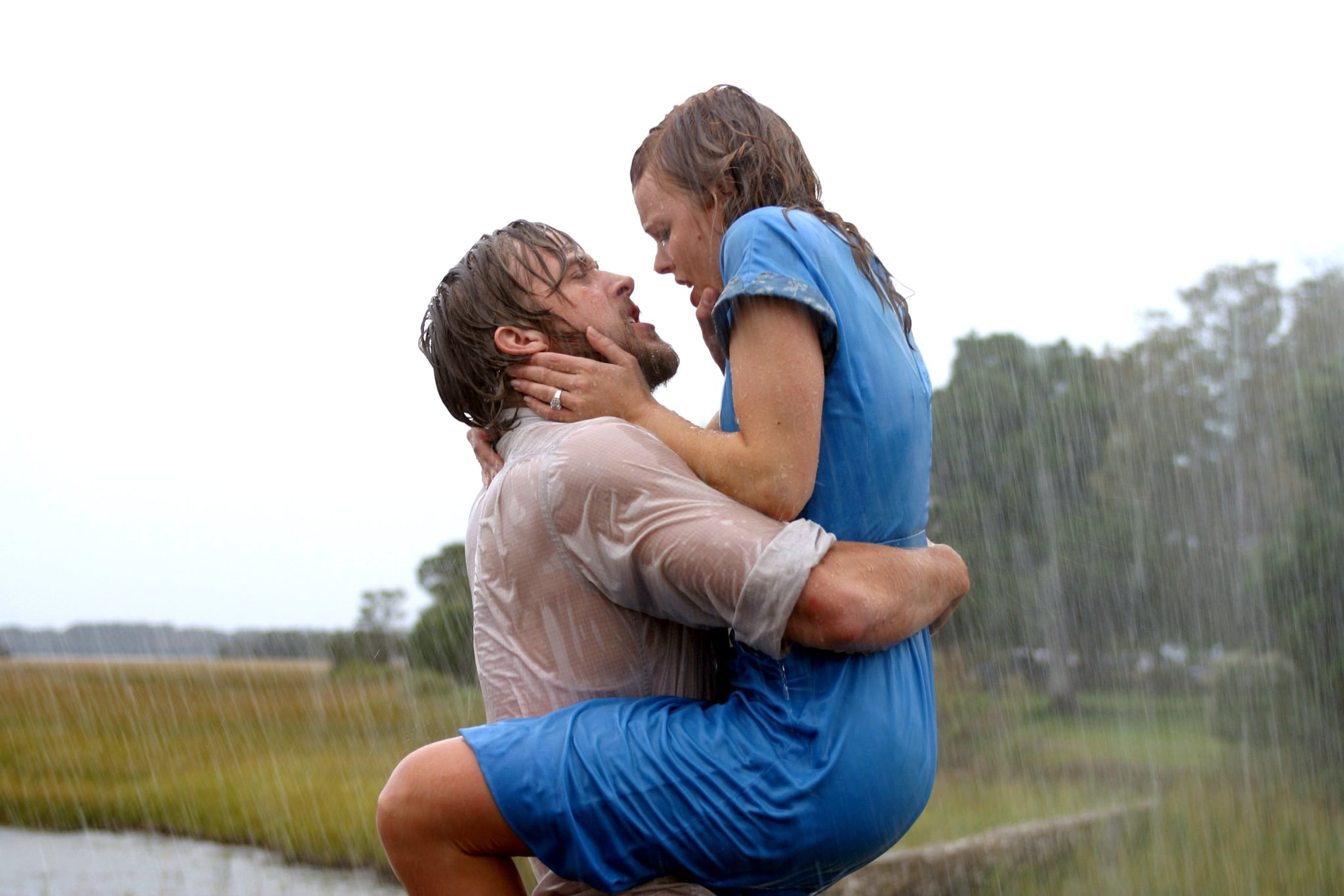 THE NOTEBOOK, Ryan Gosling, Rachel McAdams, 2004, (c) New Line/courtesy Everett Collection