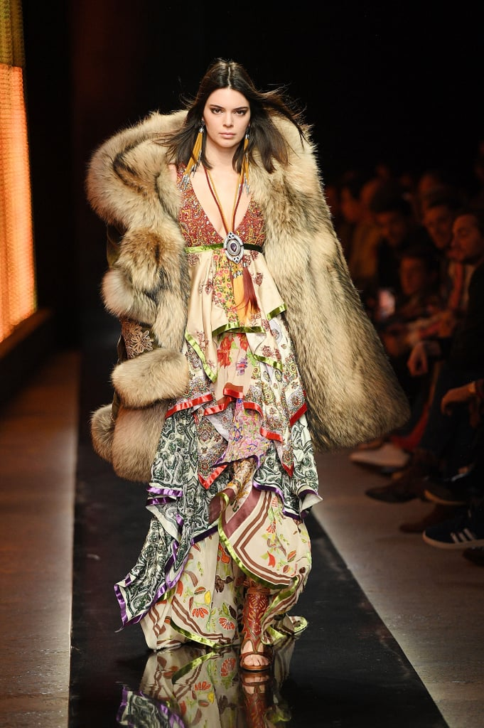 Kendall Jenner's Runway Outfit