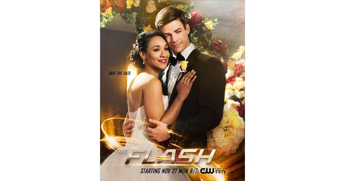 Barry And Iris S Wedding On The Flash Popsugar