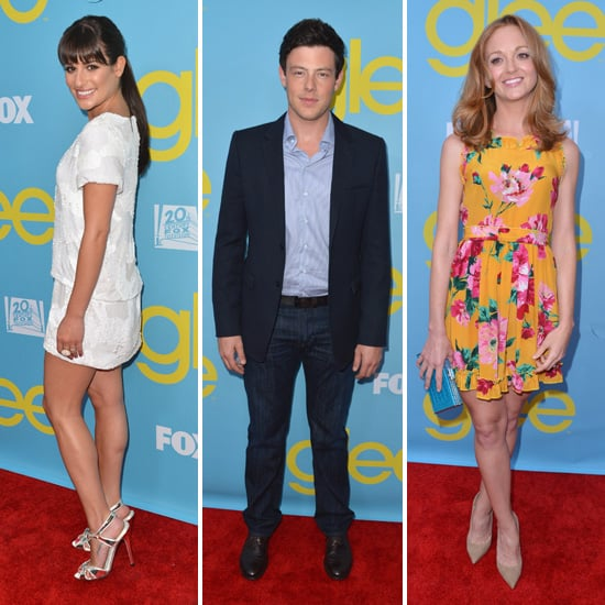 Glee Cast Pictures at LA Screening and Presentation