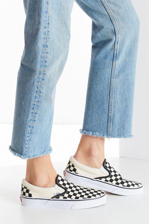 Vans Checkerboard Slip-On Sneakers