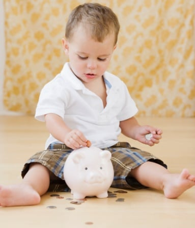 Introducing Tots to Saving Money