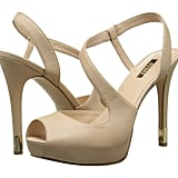 Guess Hilarie Natural Leather Pump ($99)