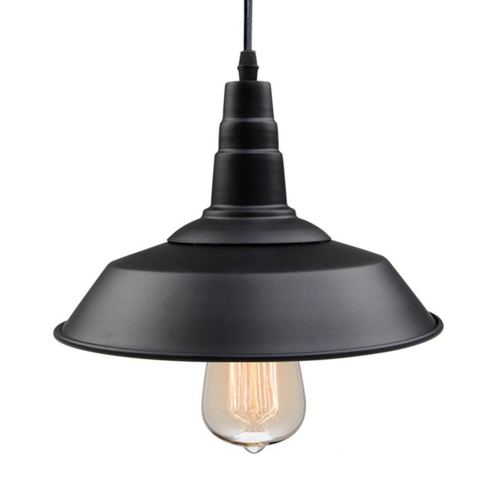Black Pendant Light ($33) | Modern Farmhouse Decor on Amazon Prime ...