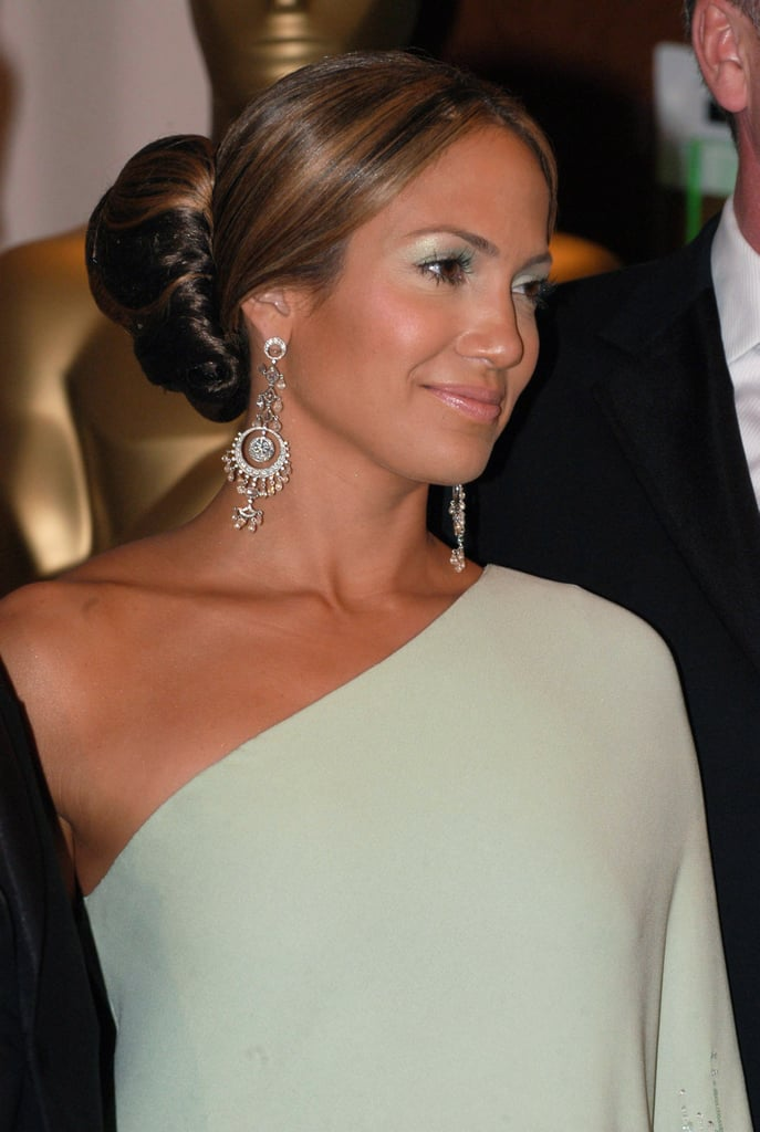 Jennifer Lopez's Green Eye Shadow in 2003