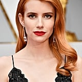 Emma Roberts Hair and Makeup at the 2017 Oscars