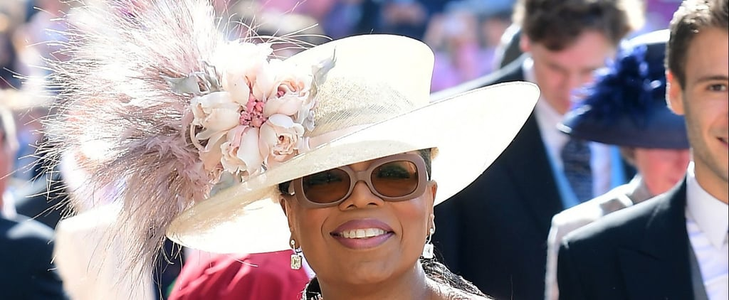 Oprah Winfrey's Outfit at the Royal Wedding 2018