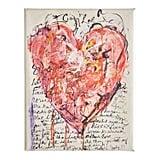 Crazy Love Heart Message Art