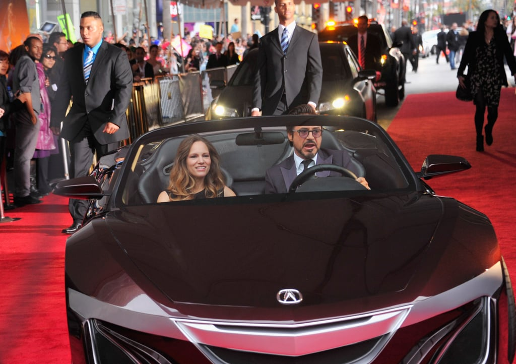 Pictured: Susan and Robert Downey Jr.