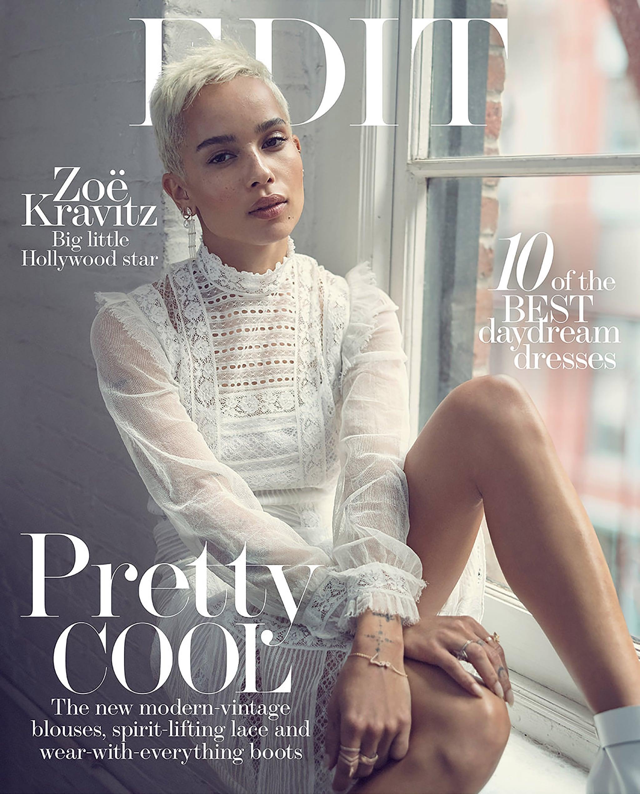 Zoe Kravitz Uk: Zoe Kravitz Quotes About Nicole Kidman And Parents June