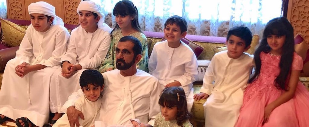 See Sheikh Mo's Grandkids Wish Him a Happy Birthday