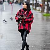 إطلالات موضة الشارع خلال أسبوع الموضة الرجالية في باريس لخري