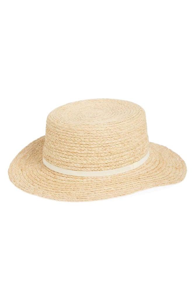 BP Women's Straw Boater Hat