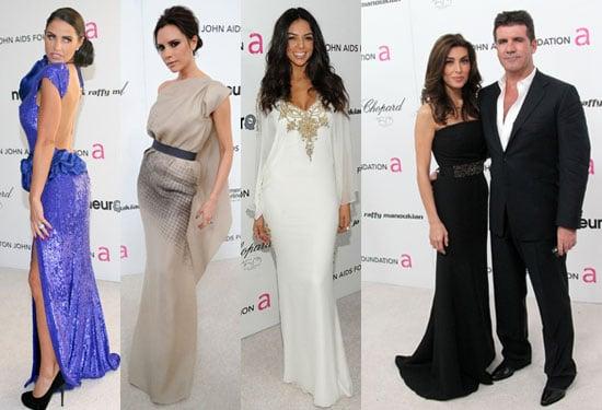 Photos of Elton John's Oscars Party Katie Price, Victoria Beckham, Simon Cowell, Mezhgan Hussainy, Kelly Brook Pictures
