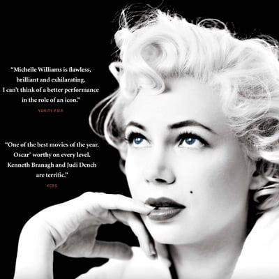 Win Tickets to a PopSugar and Village Cinemas Gold Class Screening of My Week With Marilyn in Melbourne