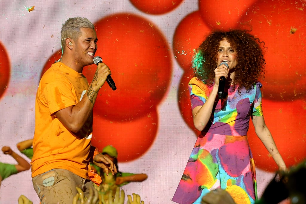Stan Walker and Carmen Smith
