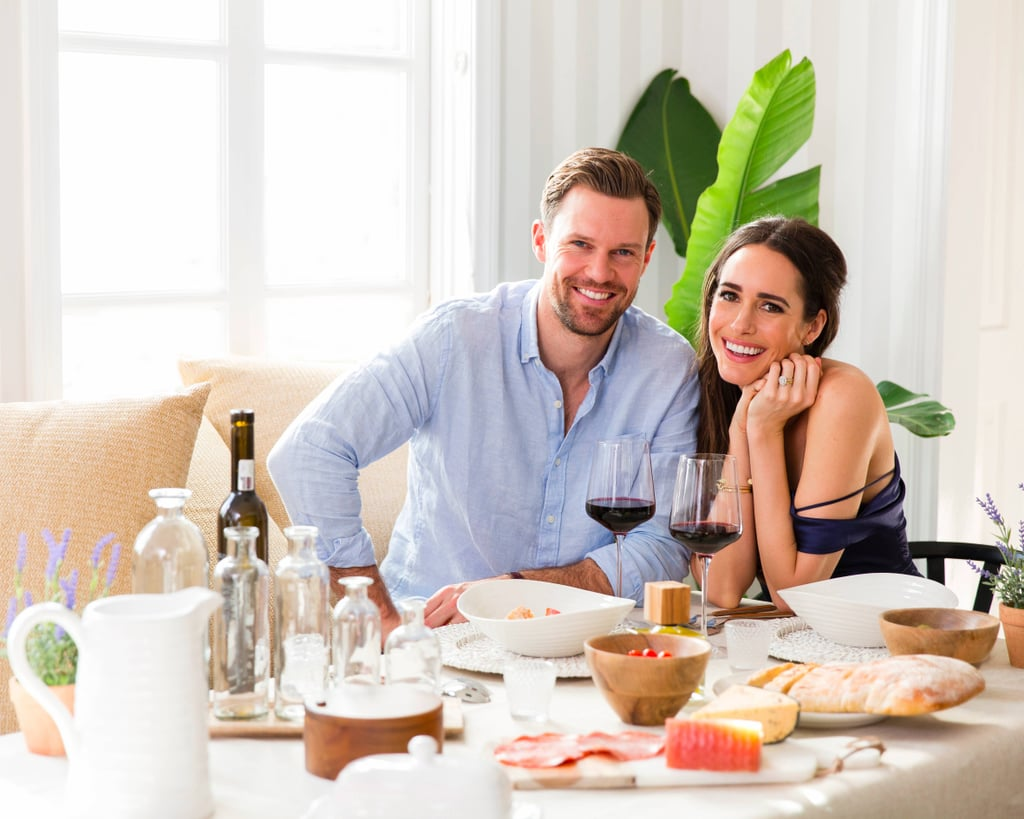 Louise Roe's Romantic Dinner Table