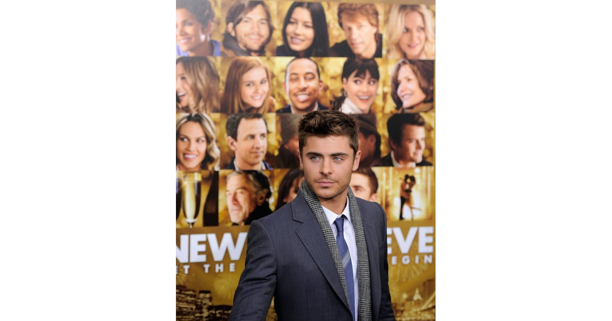 Photographers snapped photos of Zac Efron in front of the