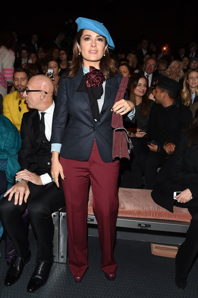 Salma Hayek at MFW
